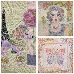 Laura Heine: Teeny Tiny Collage Group 7