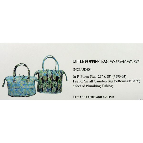 Little Poppins Bag Interfacing Kit