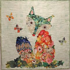 laura heine collage quilt