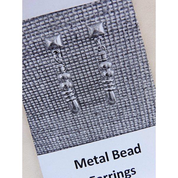 Metal Bead Earrings Kit