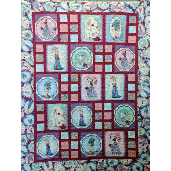 Midnight Garden quilt kit