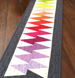 Spikey Table Runner with Linda