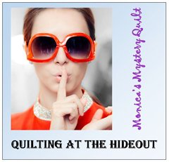 quilting at the hideout pattern