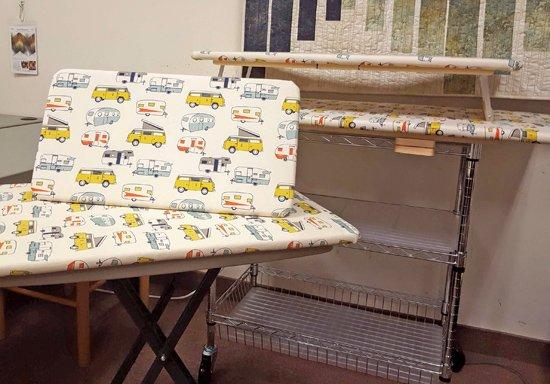 ironing surfaces