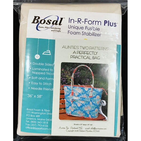 Aunties Two Perfectly Practical Bag interfacing kit