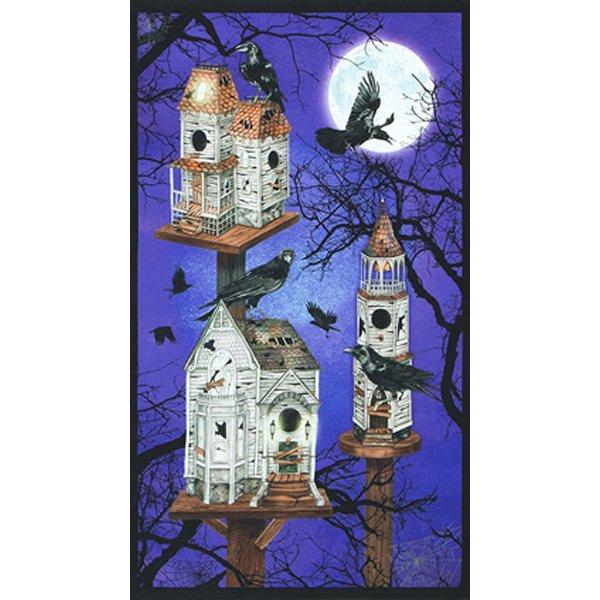 Raven Moon Spooky Birdhouses panel, Gumdrop