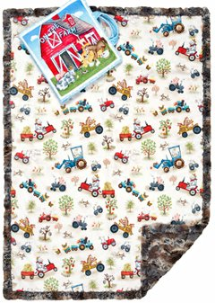 read to me barnyard cuddle quilt