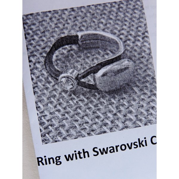 Ring with Swarovski Crystal Kit
