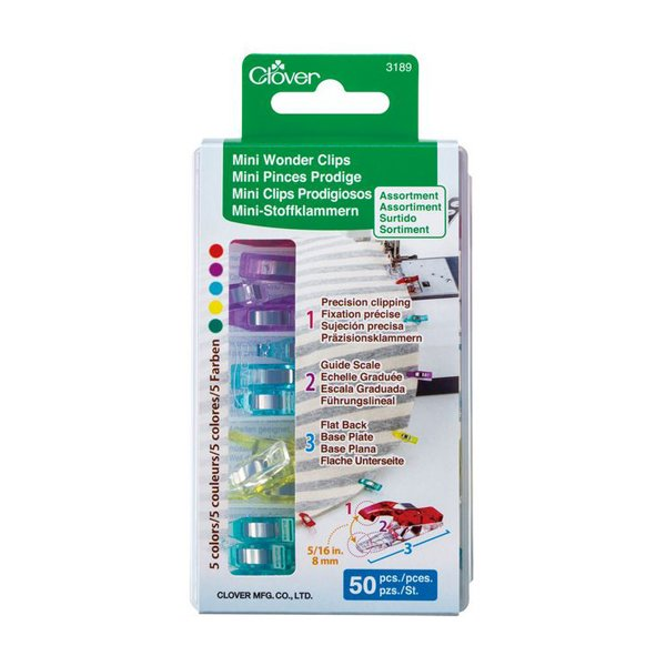 Clover Wonder Clips, small, 50 pack
