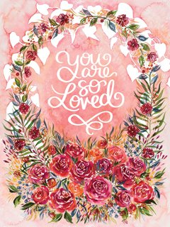 You Are So Loved panel