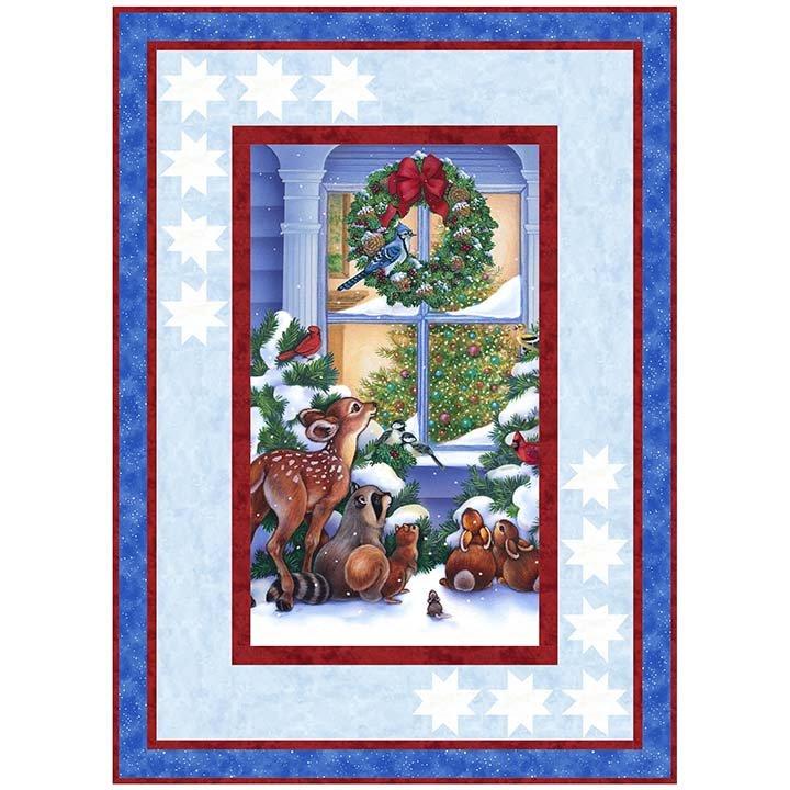 Northcott Magic of Christmas Panel