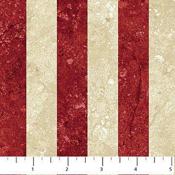 Red Cream Stripe