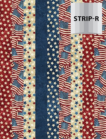 Patriotic Multi Stripe