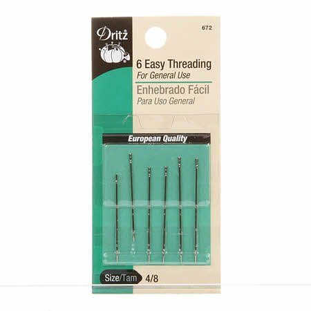 Clover Tapestry Gold Eye Needles Size 24 6ct