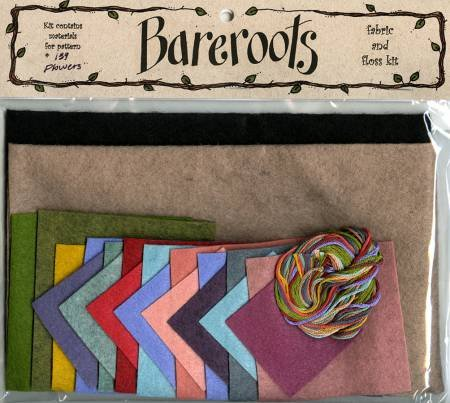 Bareroots Flower Candle Mat Kit