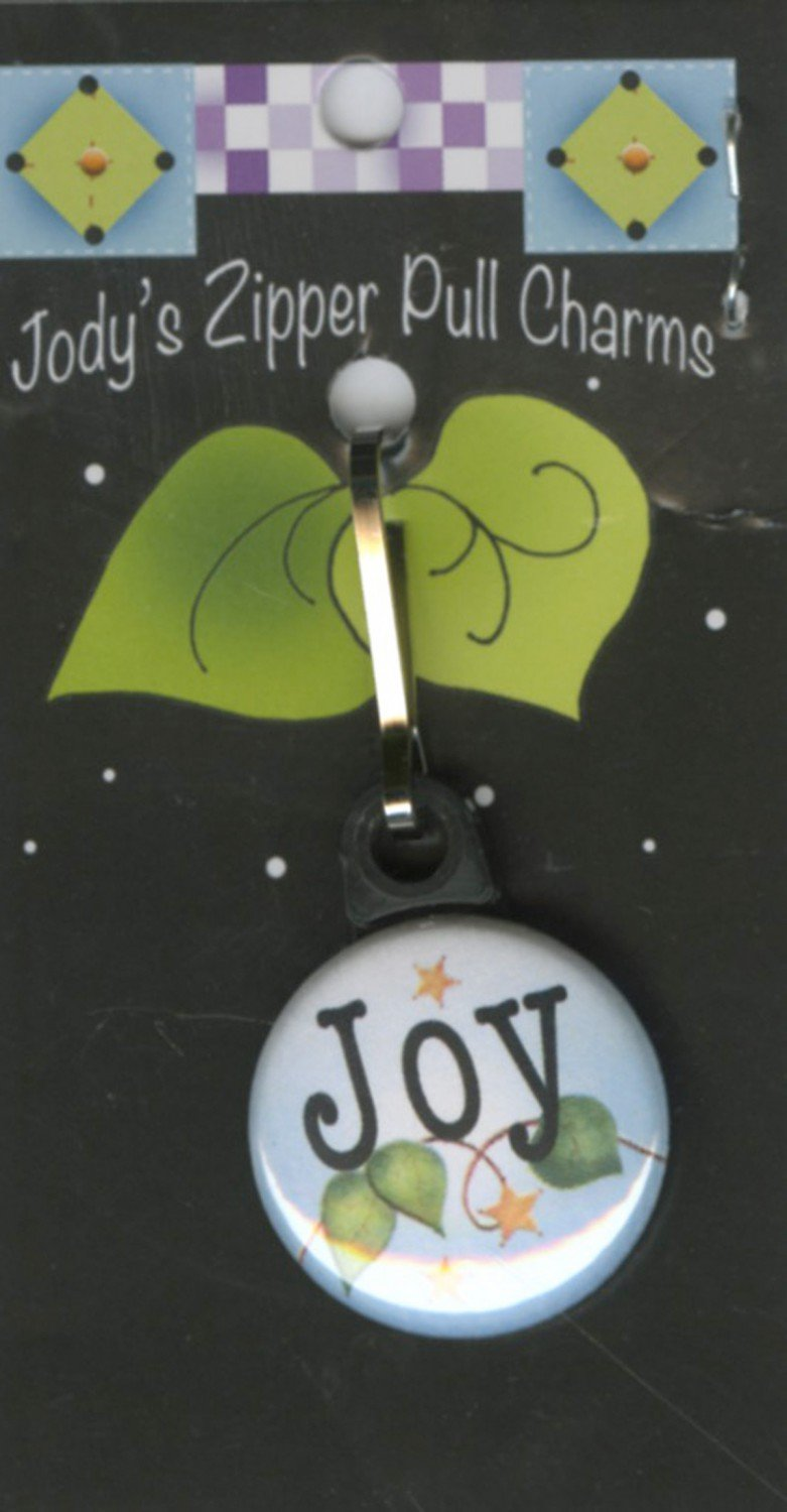 Joy Zipper Charm