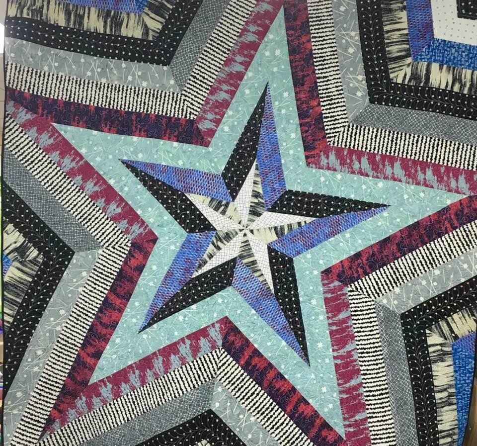 Star Storm Pattern 80x80