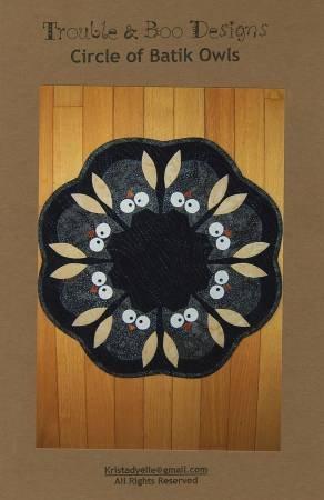 Circle of Batik Owls