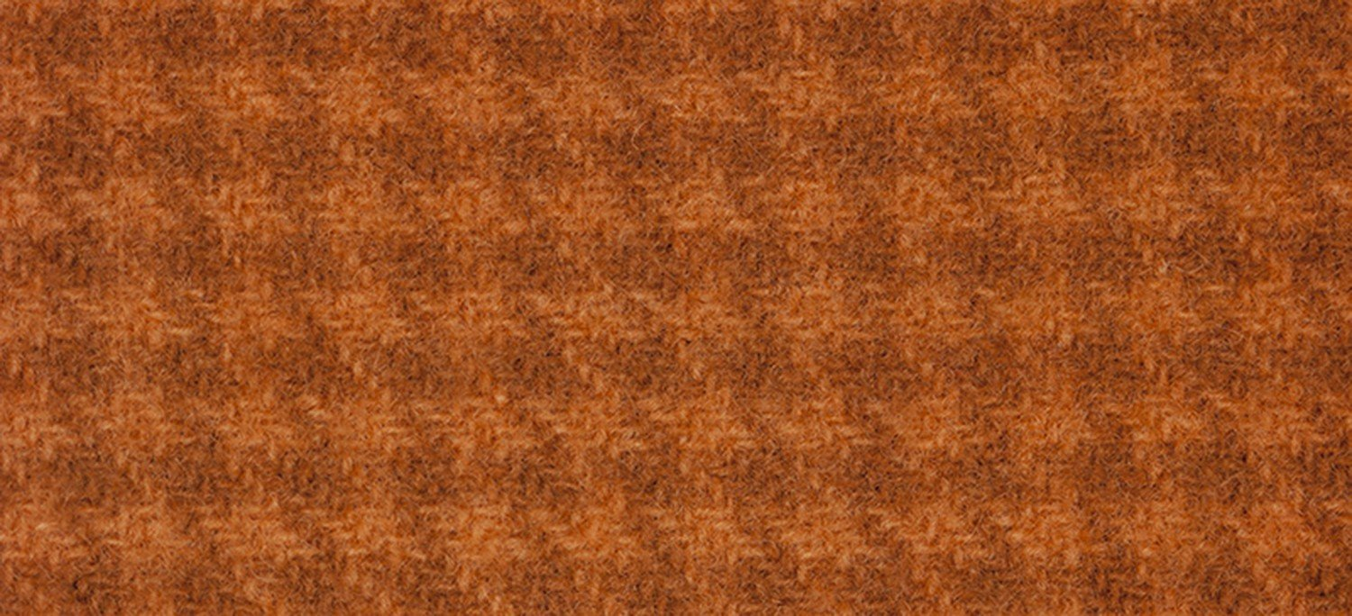 Wool Fat Quarter Houndstooth 16x26, Sweet Potato