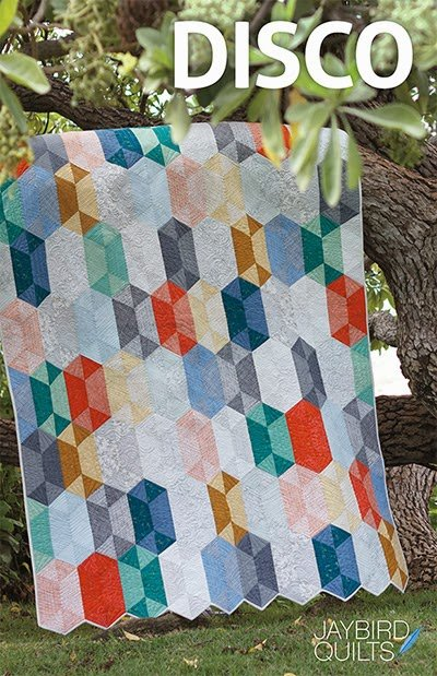 Disco Quilt Pattern by Jaybird Quilts F8ths friendly