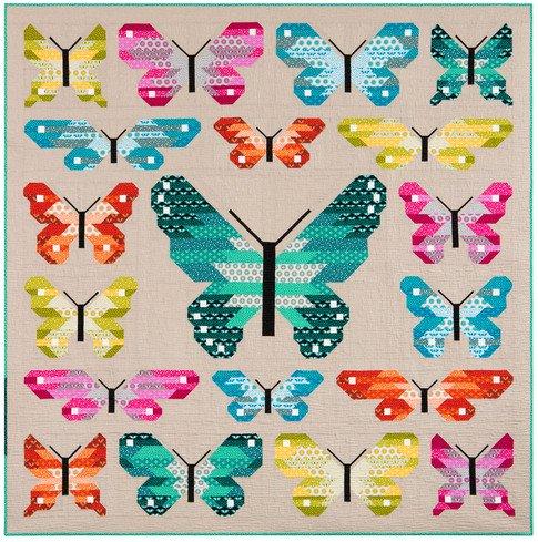 KITP-1688-35 Lepidoptera Quilt Kit