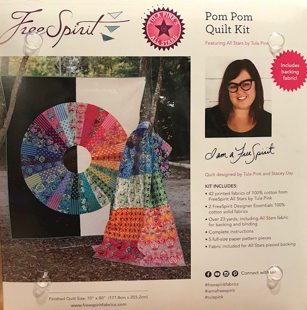 Tula Pink All Stars Pom Pom Quilt Kit