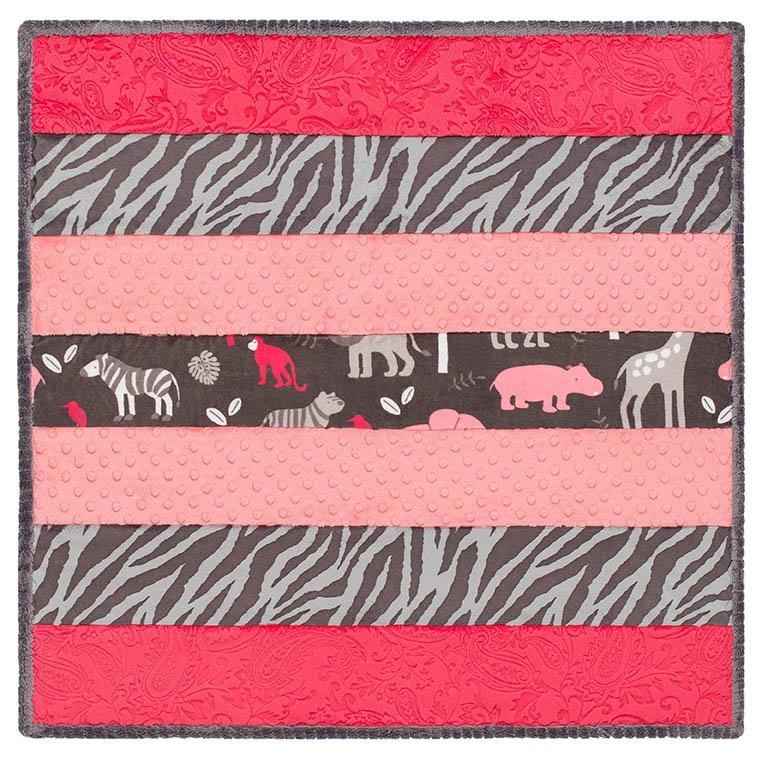 Wee Ones Sew & Flip Jungle Tales Girl