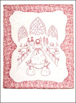 #30 - Redwork - The Wedding