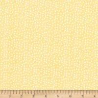 Flannel playful Cuties PC3 Yellow Dot