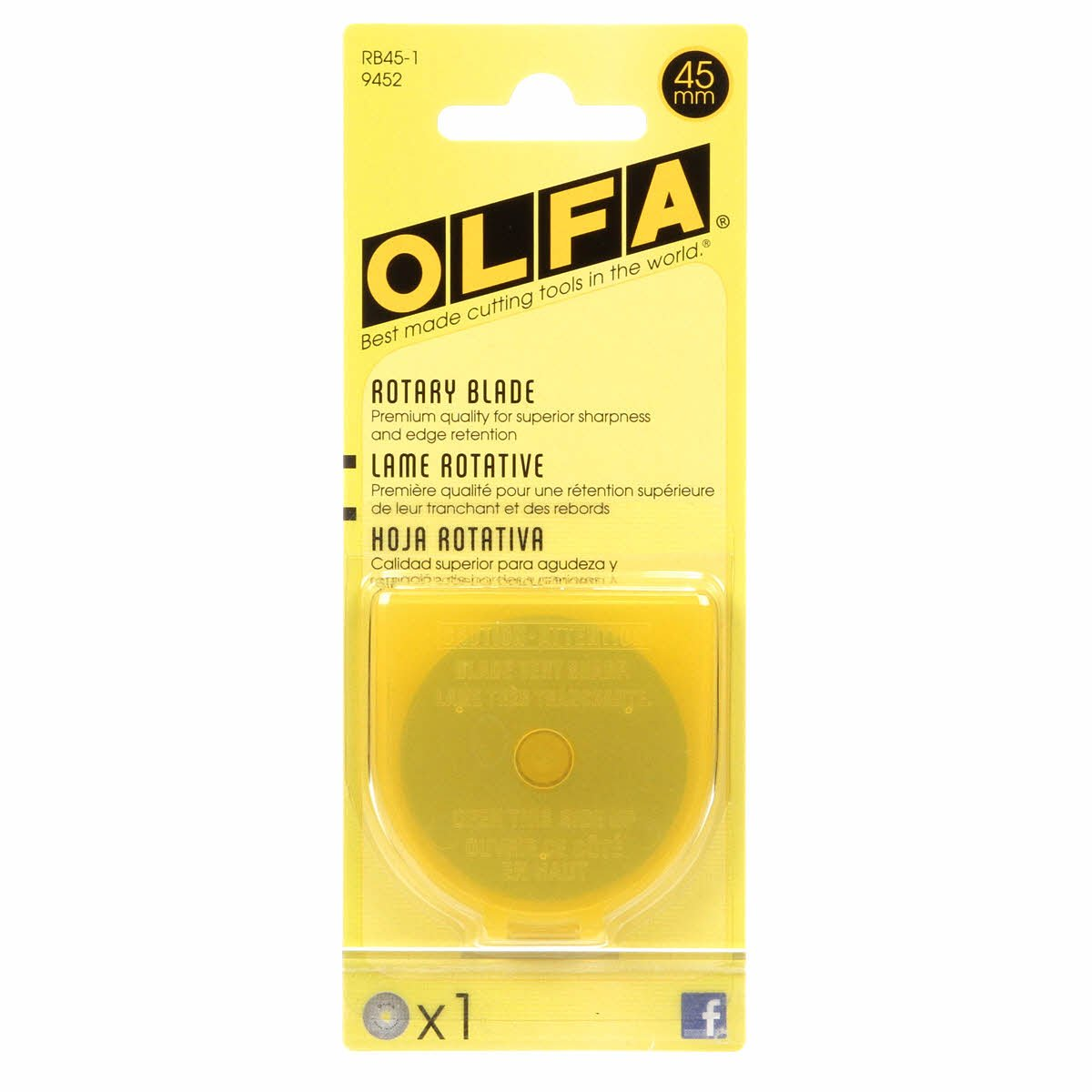 Olfa 45mm Replacement Blade RB45-1