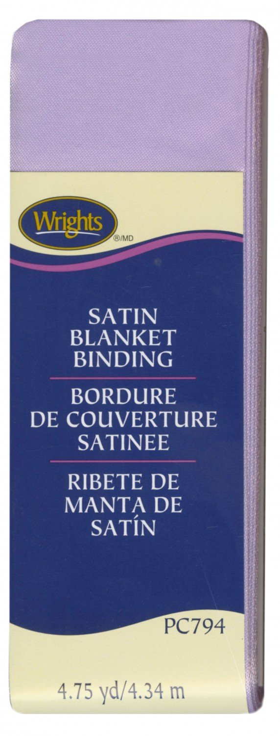 Satin Blanket Binding - Lavender
