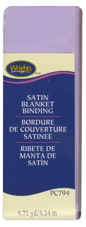 Satin Blanket Binding - Lavender