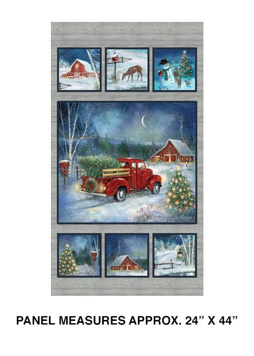 Holiday Journey Truck Panel