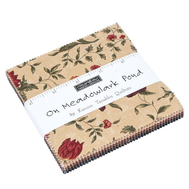 on meadow lark pond charm pack