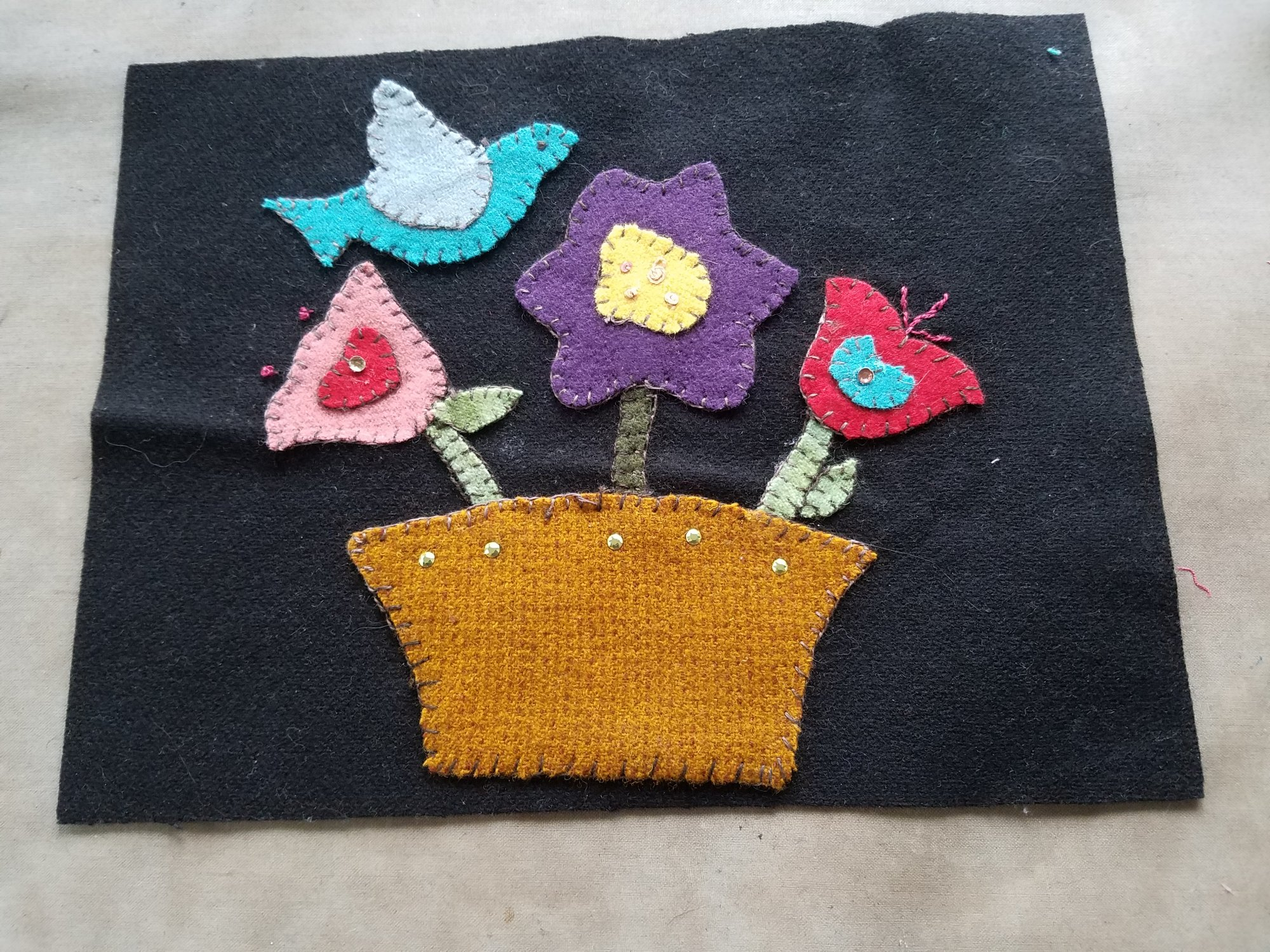 Introduction To Wool Applique