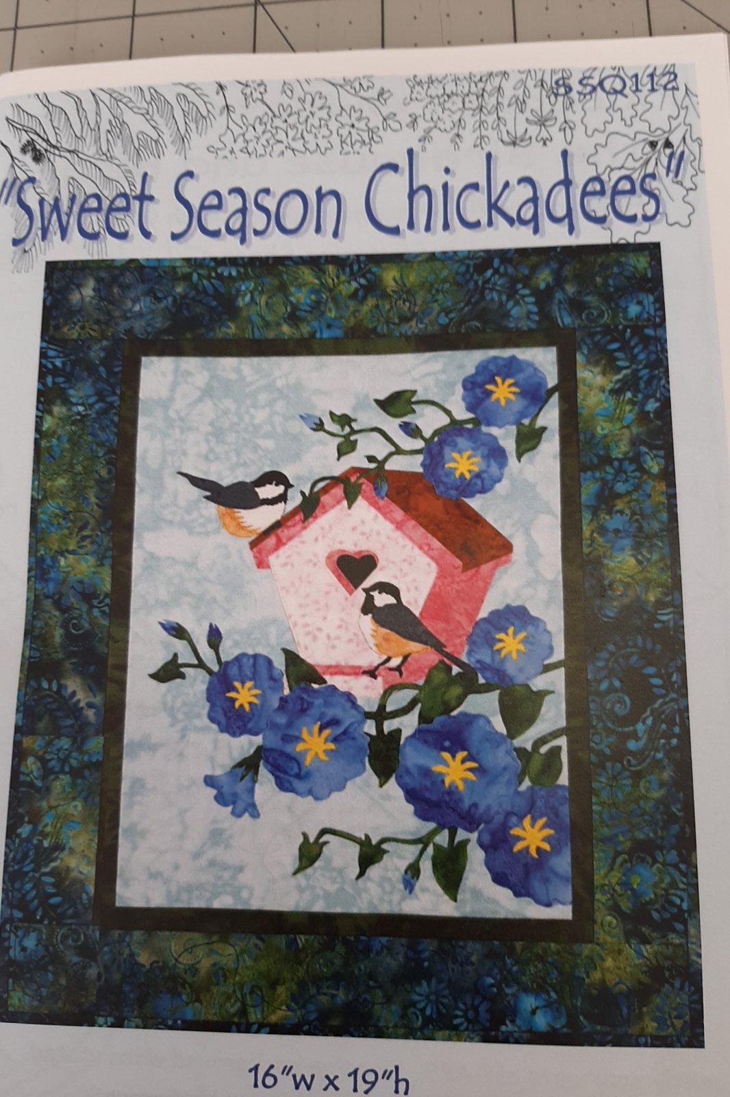 Sweet Seasons Chickadees  Kit