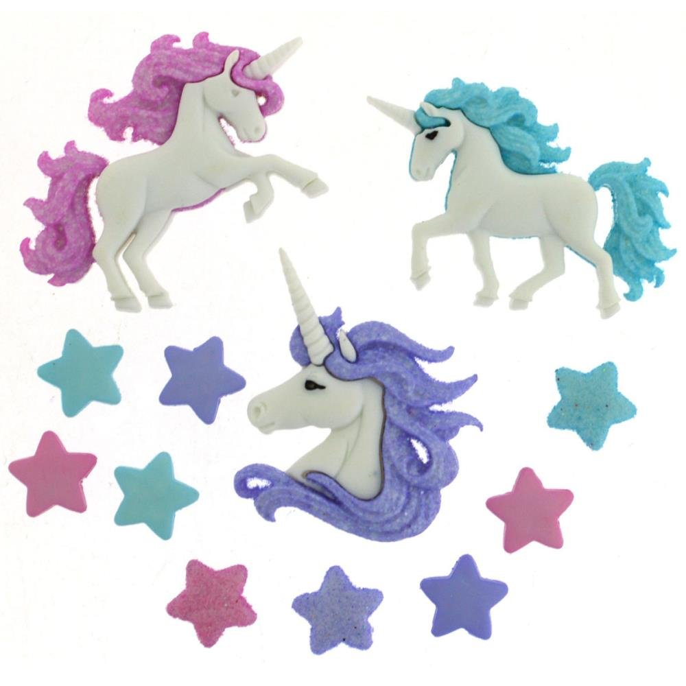 Magical Unicorns Buttons