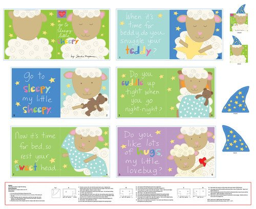 Go to Sleepy Little Sheepy - panel Softbook