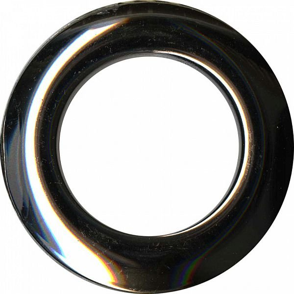 Grommets - Shiny Gunmetal - 40mm