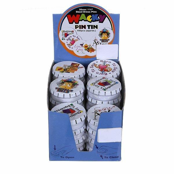 Wacky Tin Pins