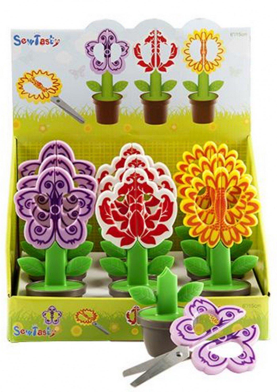 Sew Tasty Flower Pot Scissors
