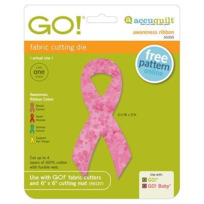 AccuQuiltGO! Awareness Ribbon 5 tall (#55355)
