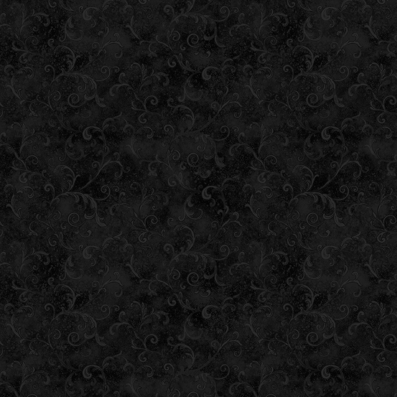 23574 Essential 108 Black Filigree backing