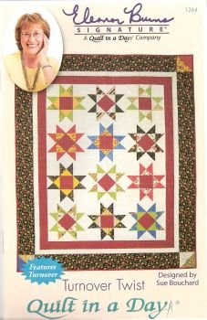 Turnover Twist Pattern by Quilt in a Day