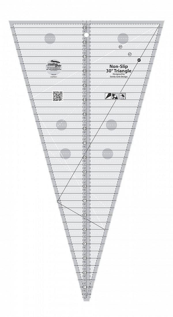CGRSG1 Creative Grid 30 Degree Ruler