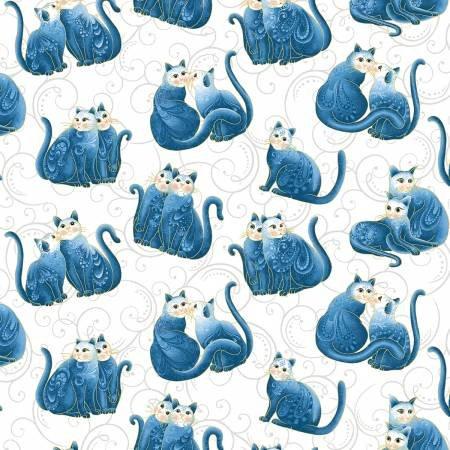 Catatude Mini Blue Cats 30073
