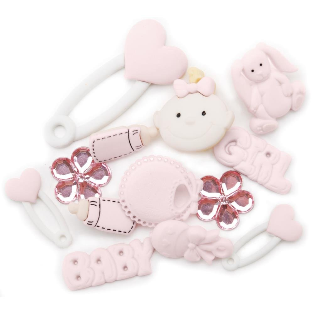 Baby Girl Buttons JBT2121