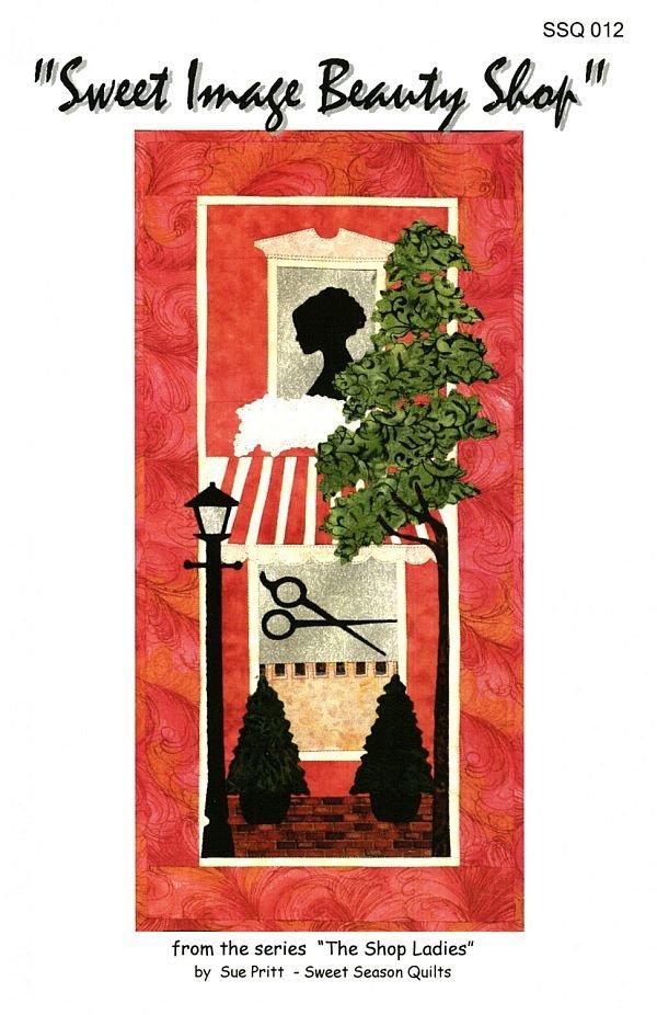 The Shop Ladies - Sweet Image Beauty Shop Fusible Applique Pattern by Sweet Seasons Designs