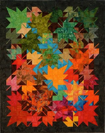 New Leaves Wallhanging Quilt Pattern by Innovations
