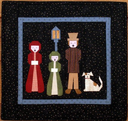 Carolers Quilt Pattern by MH Paper Pieced Designs